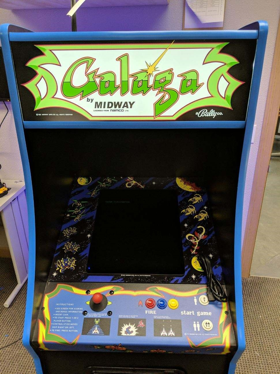 Galaga Full Size Brand New Arcade Top Seller Land Of Oz Arcades