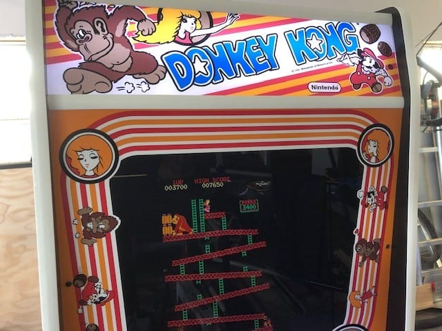 Donkey Kong Full Size Stand Up Arcade Brand New Land