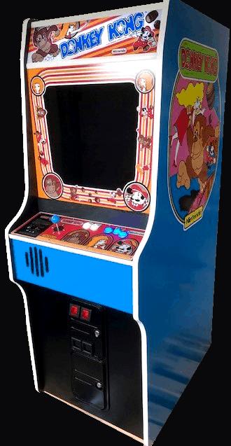 Donkey Kong Full Size Stand Up Arcade Brand New Land Of Oz Arcades