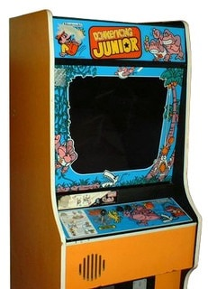 Donkey Kong Jr Full Size Stand Up Arcade Brand New Land Of Oz