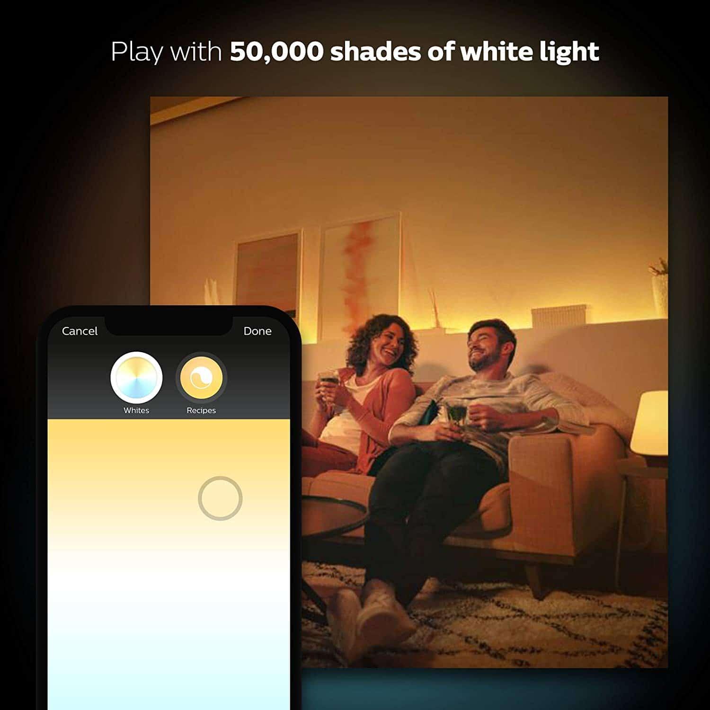 Phillips Hue Smart Lighting Led Strip Hub Bundle See